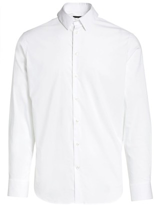 Giorgio Armani Solid Sport Shirt
