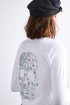 Zadig & Voltaire Ml Rhinestone Henley T-Shirt