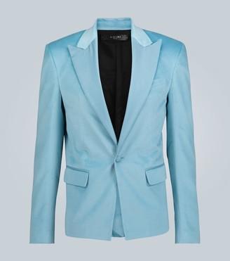 Amiri Single-breasted velvet blazer