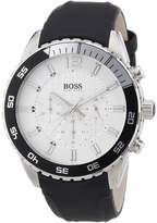 HUGO BOSS 1512805 - Men's Wristwatch, silicone, color: Black