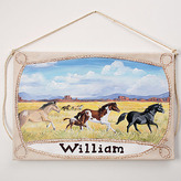 Limited Edition Wild Horses Wall Hanging