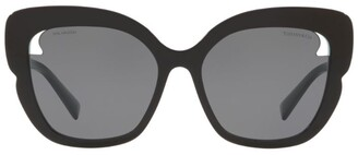 Tiffany & Co. Square Sunglasses with Cut-Out Lens