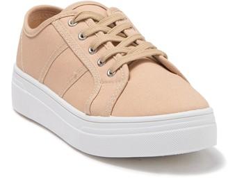 Top Moda Aiya Canvas Platform Sneaker