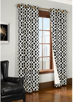 Commonwealth Home Fashions Trellis Room-Darkening Grommet Top Window Curtain Panels