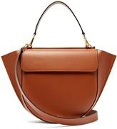 Wandler Hortensia Large Leather Shoulder Bag - Womens - Tan