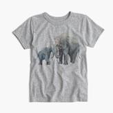 J.Crew Kids' crewcuts for David Sheldrick Wildlife Trust elephant T-shirt