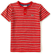 Lucky Brand Big Boys 8-20 Offshore Striped Short-Sleeve Henley Tee
