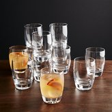Crate & Barrel Set of 12 Otis Double Old-Fashioned Glasses