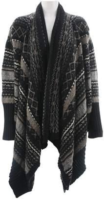 Haute Hippie Black Wool Knitwear