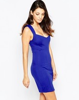 French Connection Lula Stretch Fitted Dress