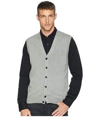 Perry Ellis Cotton Modal Knit Sweater Vest