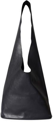 The Row Leather Hobo Bucket Bag