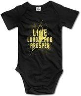 Unknown Mr.Spock Fictional Star Trek Baby Onesie Toddler-bodysuits