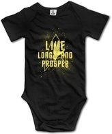 VBE104 Mr.Spock Fictional Star Trek Baby Onesie Toddler-bodysuits