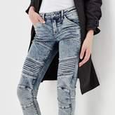 G Star 5620 G-Star Elwood Custom Mid Waist Skinny Jeans