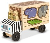 Melissa & Doug Melissa & Doug's Animal Rescue Shape-Sorting Truck