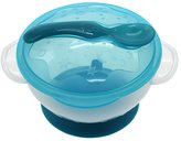 WEKA Baby Kids Spoon And Bowl Set Two-handed Feeding Sucker Plastic Tableware Dishes