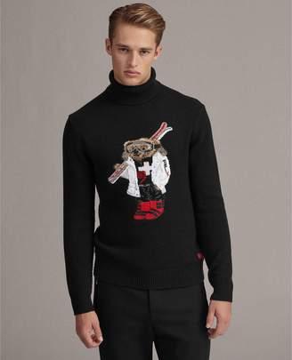 Ralph Lauren RLX Ski Bear Cashmere Sweater