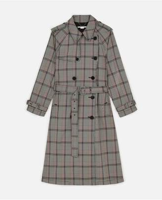 Stella McCartney Check Trench Coat