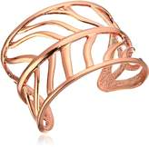 Vince Camuto Cut Out Leaf Cuff Bracelet