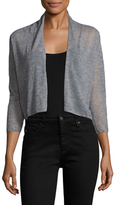 Autumn Cashmere Easy Cashmere Cropped Cardigan
