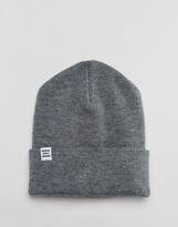 Herschel Supply Co Frankfurt Beanie In Grey