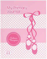 Spark & Spark Ballerina Shoes Personalized Journal