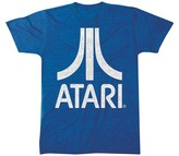 Atari Men's Logo T-Shirt - Heathered Navy