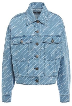 House of Holland Embroidered Denim Jacket