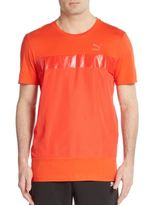 Puma Perforated Paneled Tee