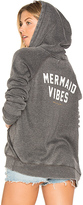 Spiritual Gangster Mermaid Vibes Dharma Hoodie in Charcoal