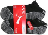 Puma Men's Cool Cell Low Cut Sport Socks, 6 Identical Pairs