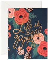 Rifle Paper Co. Beautiful Life Card