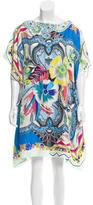 Etro Silk Abstract Print Dress
