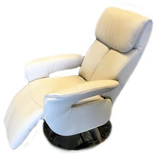 Latitude Run Romola 2 Motor Leather Power Recliner Upholstery Color: Sand