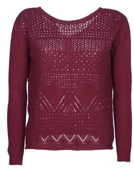 Betty London JESKOI women's Sweater in Bordeaux