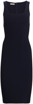 Michael Kors Crepe Wool Sheath Dress