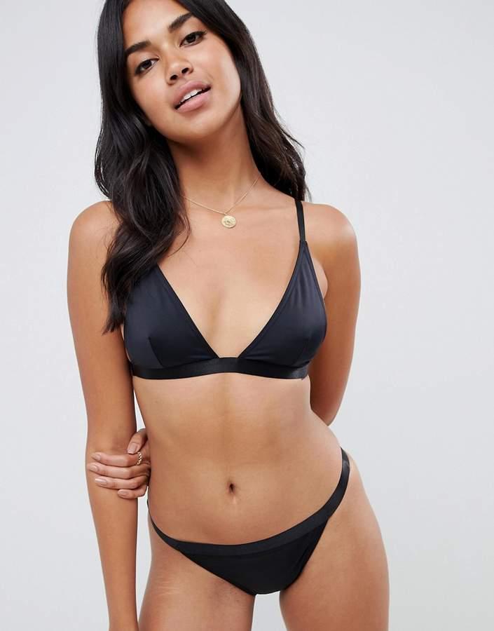 c5ce9e430295d Plain Triangle Bikini - ShopStyle UK