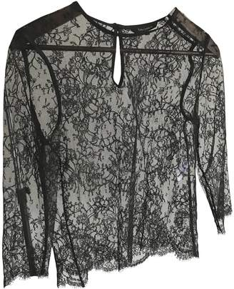 Tara Jarmon Black Lace Top for Women