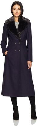 Just Cavalli Women's Long Woven Coat