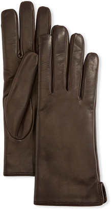 Portolano Mario Napa Leather Gloves w/ Rabbit Fur Lining