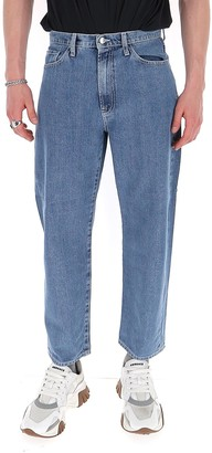 Sunnei Straight-Leg Denim Jeans