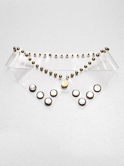 Marni Studded Transparent Collar