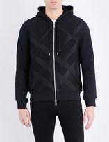 Burberry Geometric-print jersey hoody