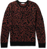 Cmmn Swdn Cotton, Merino Wool And Cashmere-blend Sweater - Black