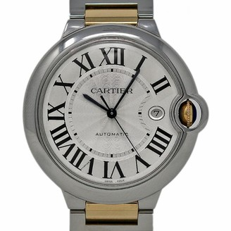 Cartier Ballon bleu Silver gold and steel Watches