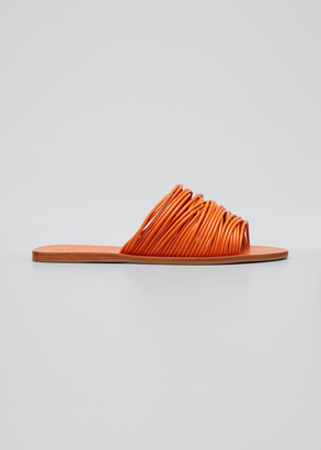Mercedes Castillo Zelie Strappy Flat Slide Sandals