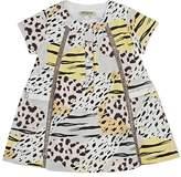 Kenzo Wildcat-Print Cotton Dress