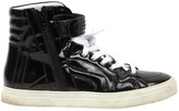 Pierre Hardy Black Patent leather Trainers