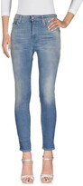 Care Label Denim pants - Item 42559701